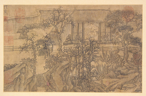 Landscape Painting Drawn by Xie Shichen in the Ming Dynasty