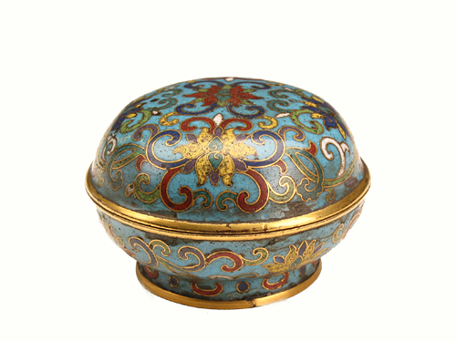 Cloisonné Box during Qianlong Reign Periods of the Qing Dynasty